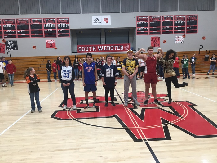 Jersey Day-Spirit Week Day 2019 2