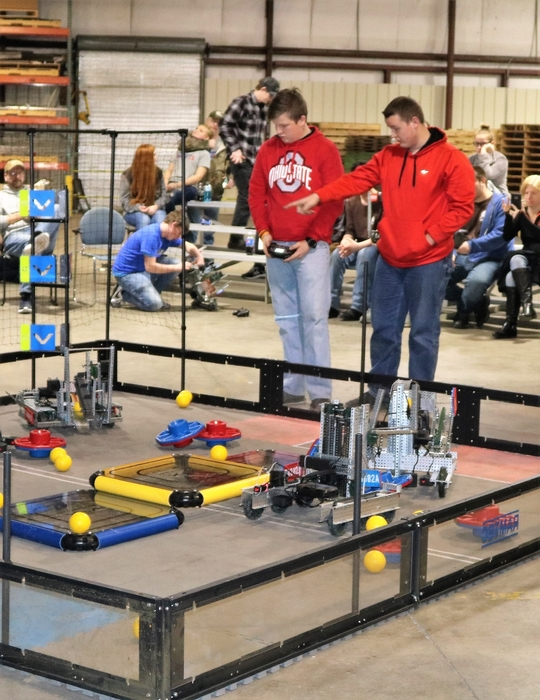 Robotics Team Moves On To Dayton