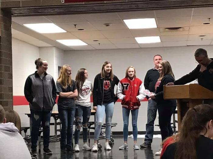 Freshmen Girls BB Awards 2019