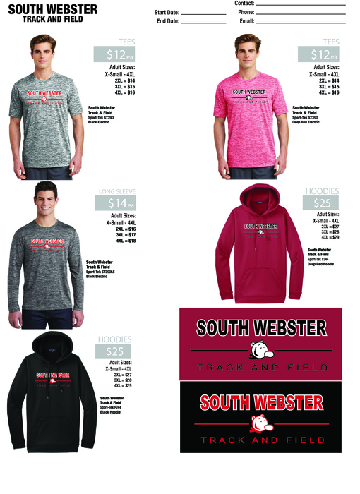 SW Track Fundraiser