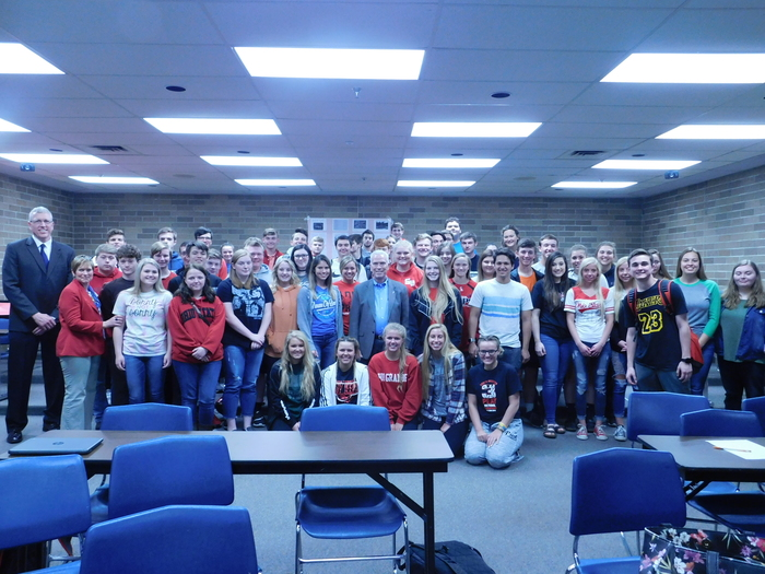 Congressman Bill Johnson with Jr. Class