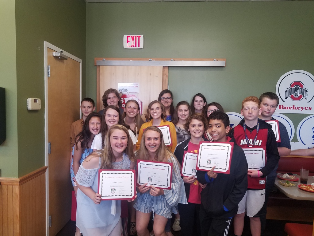 7th Grade Academic Awards 2019