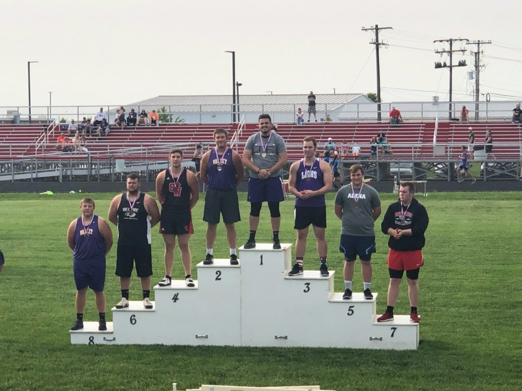 Joe shotput going to State meet.